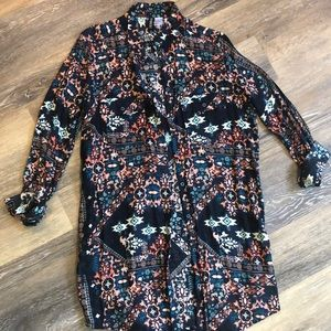 Oversized Button-Up for Women